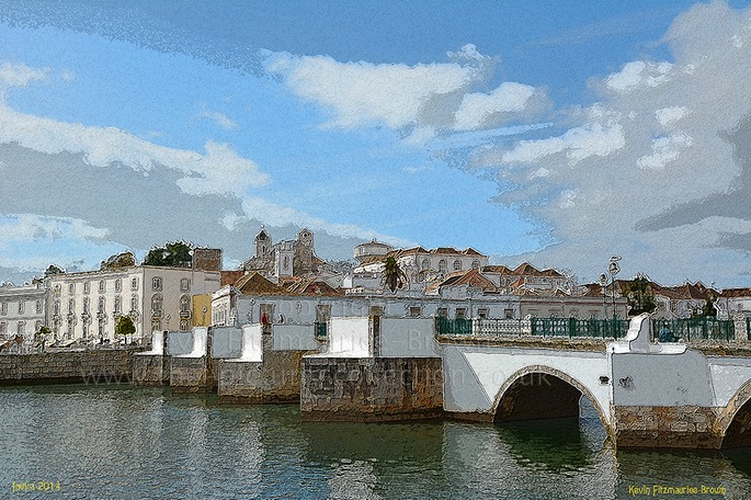 Bridge, Tavira, Algarve.